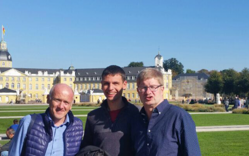 von rechts: Fritz Baudendistel, Michael Walther, Thomas Hodapp
